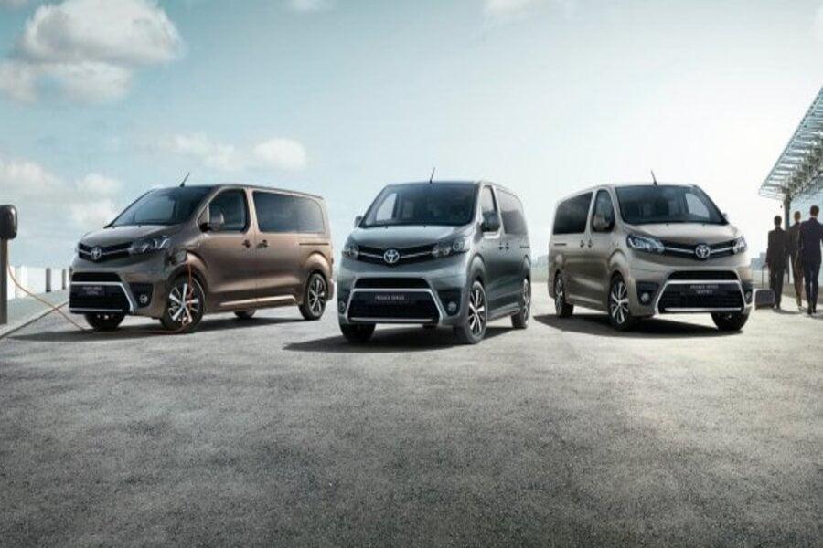 Toyota anuncia precio de su furgoneta eléctrica de gran tamaño